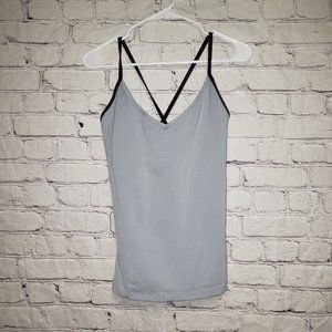 Lucy Criss Cross Work Out Tank Top